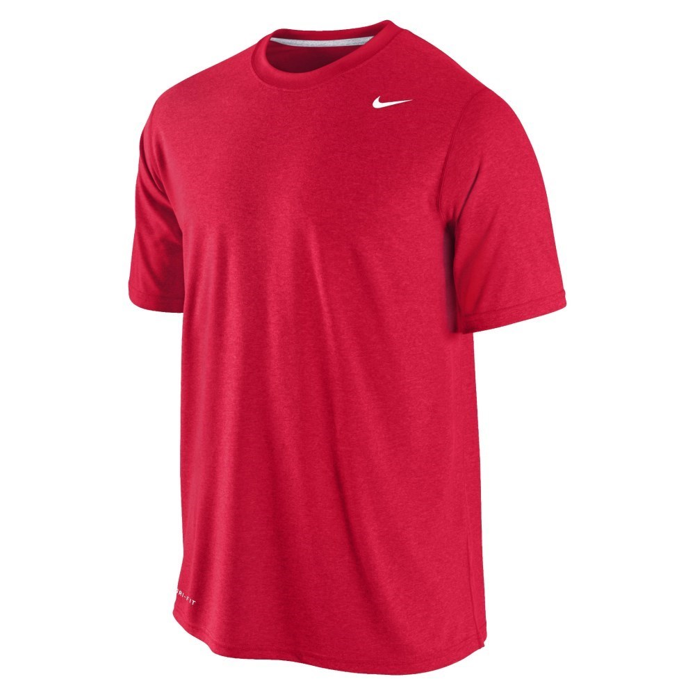 Buy nike legend dri fit mens training t shirt red for Buy dri fit shirts