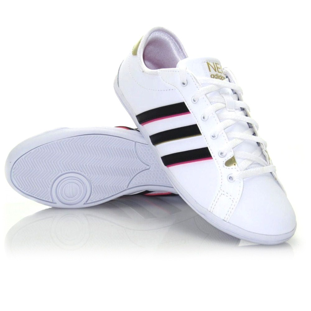 Adidas Derby QT - Womens Casual Shoes - White/Black